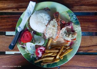 What I Ate Today: Lobster at La Lancha