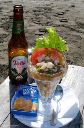 Fish Ceviche: San Juan del Sur, Nicaragua