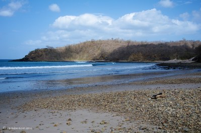 Playa Remanso is located 8 km south of San Juan del Sur.