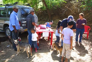 El Carizal Vaccination Clinic: Registration Area