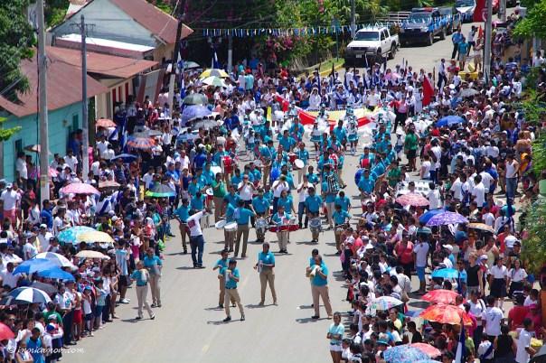 Independence Day Celebrations 2015: San Juan del Sur, Nicaragua