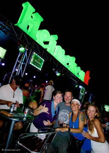 Semana Santa 2016: Heineken Stage, San Juan del Sur, Nicaragua