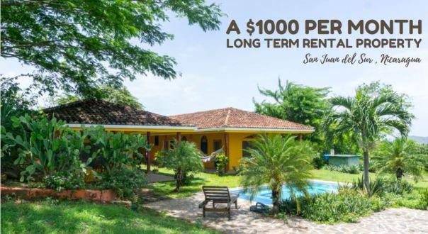 Long Term Rental Property: San Juan del Sur, Nicaragua