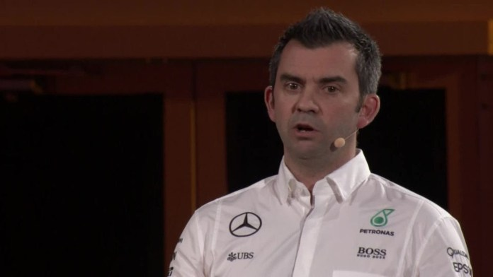 Matt Harris, responsabile IT di Mercedes-AMG Petronas Motorsport