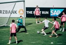 La Nazionale tedesca di calcio (DFB) si affida a SAP per ottimizzare le prestazioni della squadra durante la Coppa del Mondo in Russia