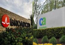 Sede Broadcom e CA Technologies
