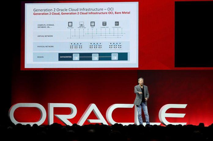 Oracle OpenWorld 2018 - Larry Ellison, Executive chairman of the Board e Cto di Oracle