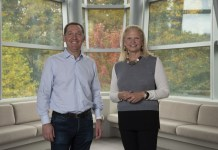Ginni Rometty, President and CEO di IBM & James M. Whitehurst, CEO of Red Hat
