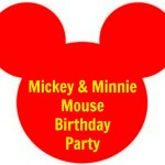 Mickey and Minnie Mouse Party