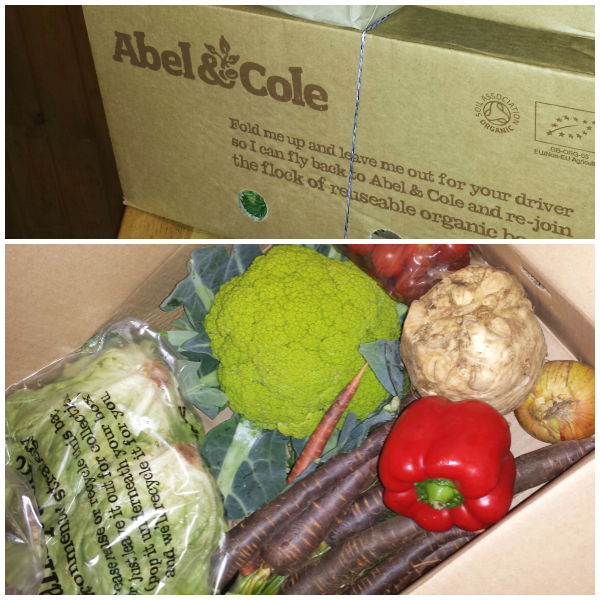 abel and cole veg box