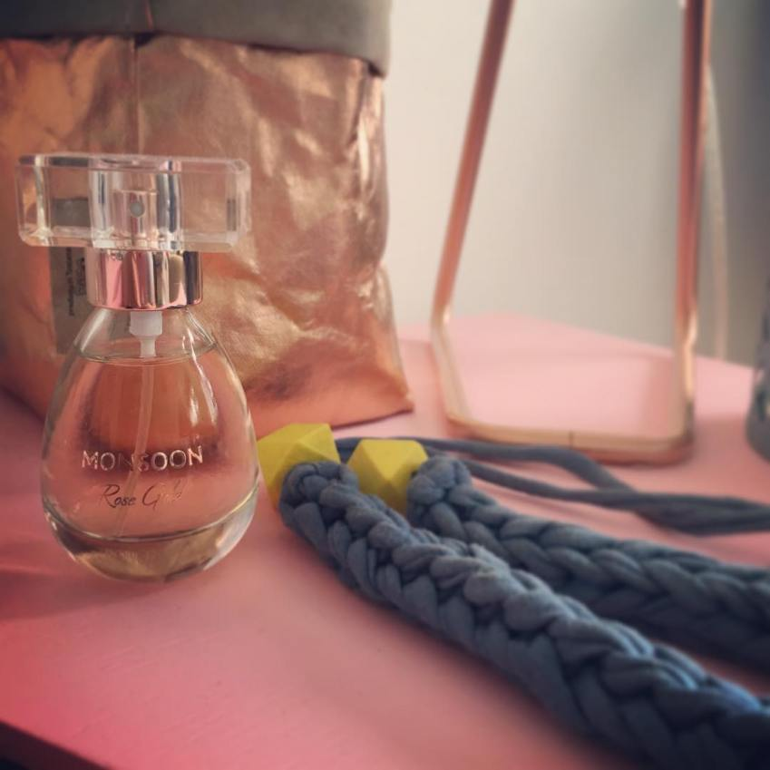 Monsoon Rose Gold Perfume the perfect Autumnal scent - Innocent Charms Chats