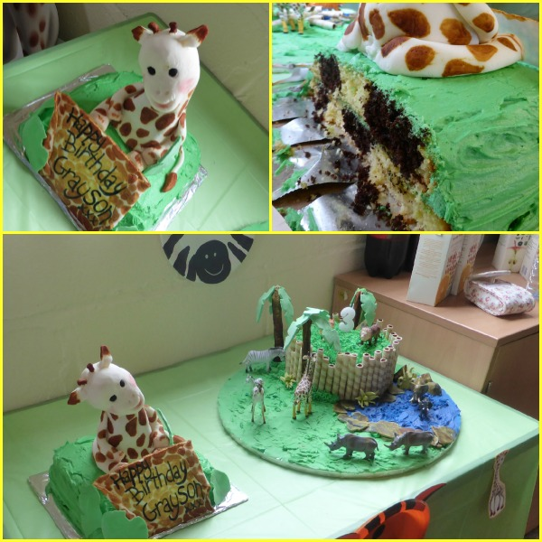 Sophie Le Giraffe Birthday Cake