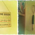 Corners Of My Home // On Our Kitchen Walls