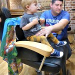 Deacon's First Haircut