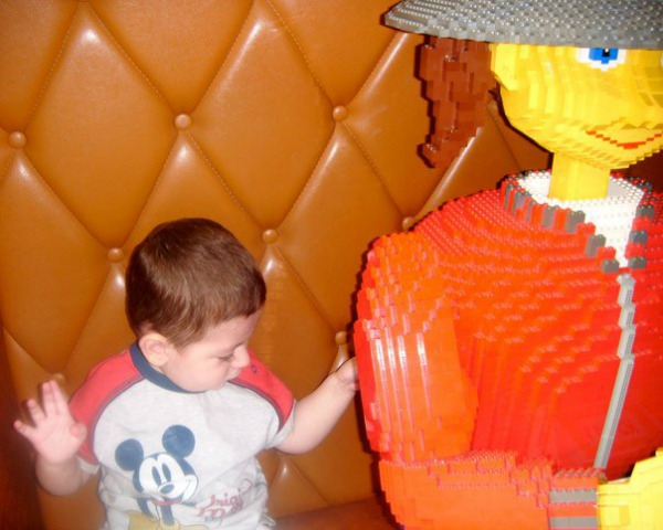 Grayson at legoland