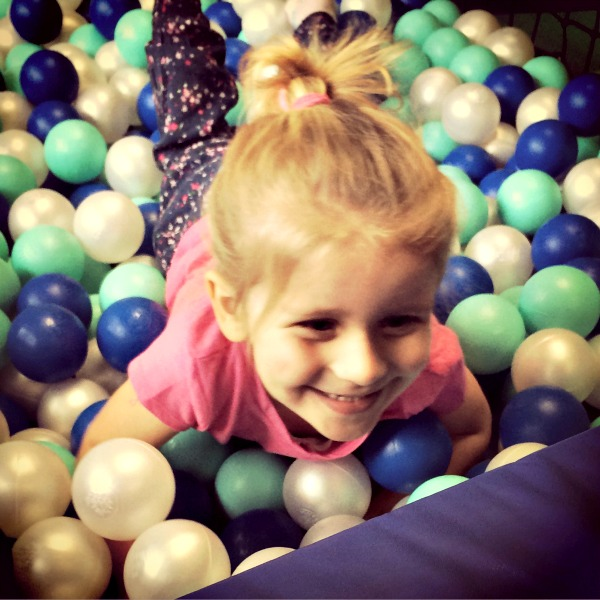 Addison at soft play