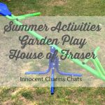 Summer Holiday Activities / Garden Play With House of Fraser