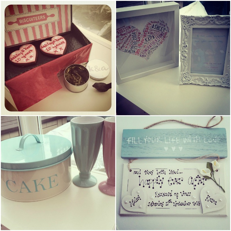 Wedding Renewal Gifts