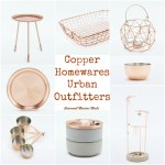 Home // Copper Homewares From Urban Outfitters