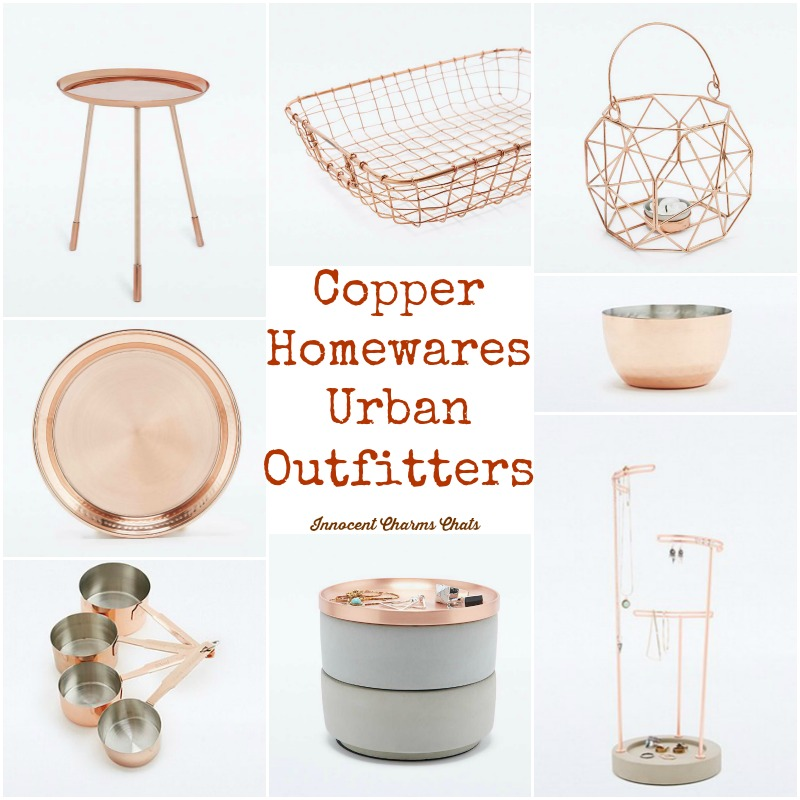 Copper Homewares from Urban Outfitters