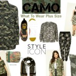 Camo On Trend For Plus Size Fashion