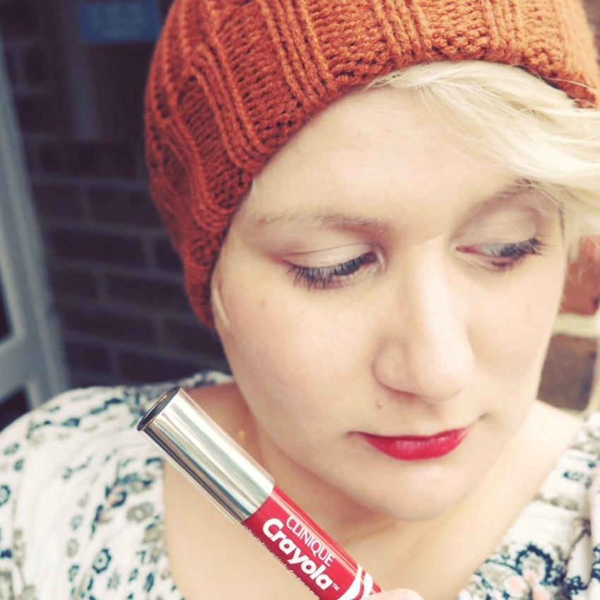 CliniqueCrayola Chubby stick collab review from innocent Charms Chats
