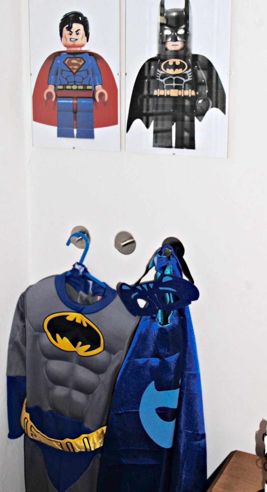 Check out our inspiration for a toddler  Superhero bedroom from Innocent Charms Chats