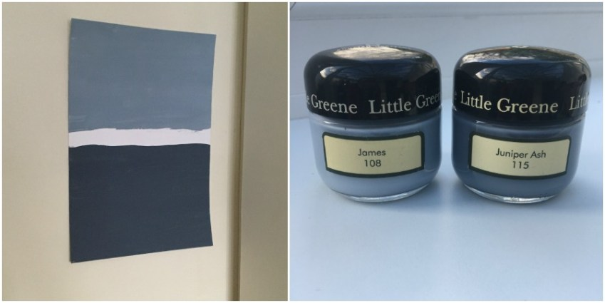 Bedroom Makeover using Little Greene Paint from Innocent Charms Chats