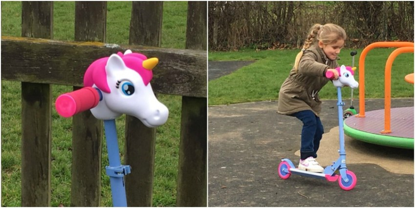 A review of the toy all children will want, a Scootaheadz, available in Lola Horse or Timmy T Rex from Innocent Charms Chats