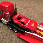 Deacon at 3 Years and 9 Months With Disney Cars