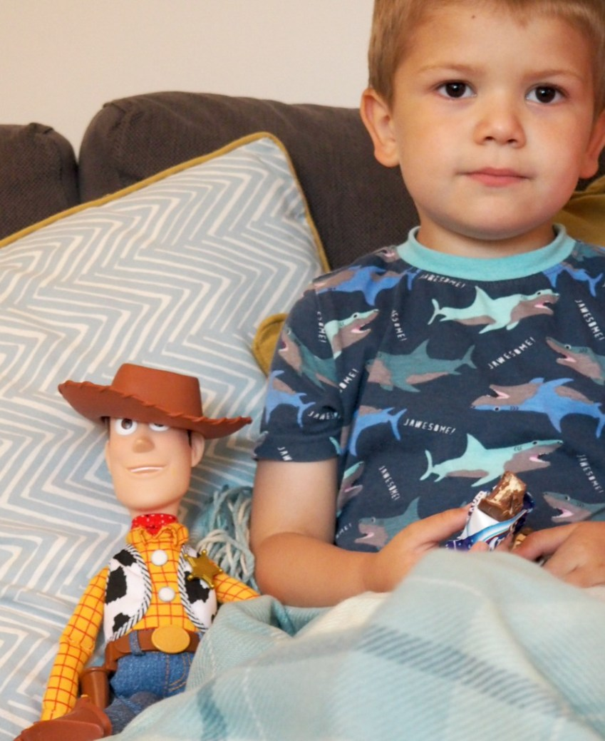 Woody, Toy Story Toy from B&M, find out more at Innocent Charms Chats