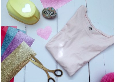 Find out how to upcycle a kids tee in 10 minutes with Happy Fabric and items in your home at Innocent Charms Chats