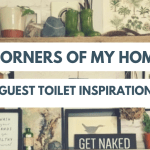 Corners Of My Home // Guest Toilet