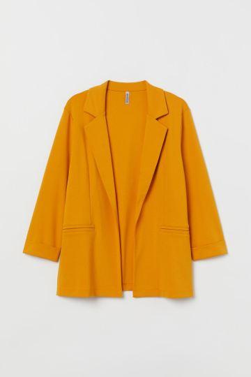 Mustard Plus Size Blazer