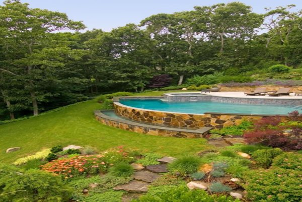 How To Build Your Own Pool On A Sloped Land Innodez