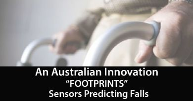 'Footprints' Sensors Predicting Falls