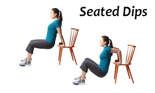 Seated Dips Exercise