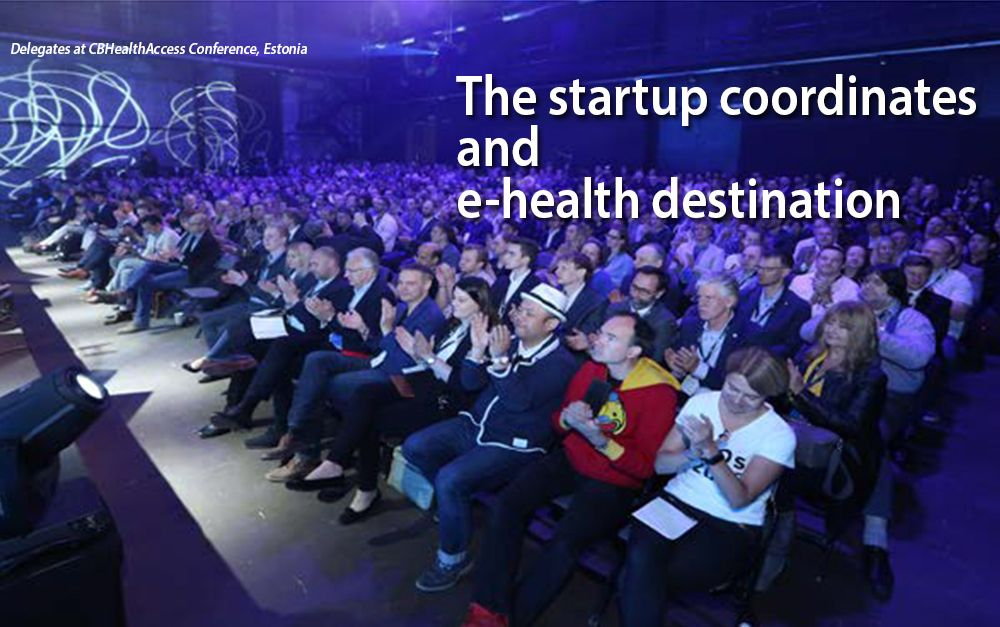 The startup coordinates and e-health destination