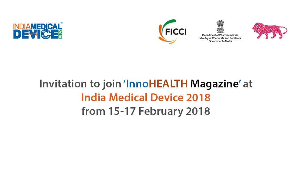 InnoHEALTH Magazine at India medical device 2018