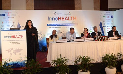 Prof. Arti Maria at InnoHEALTH 2017 conference