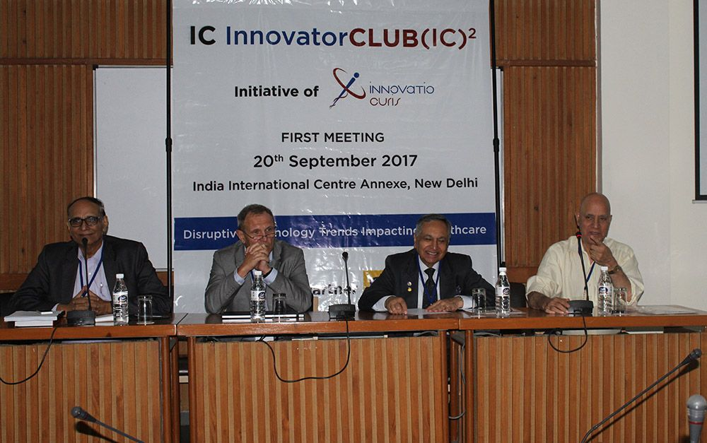 IC Innovator Club first meeting