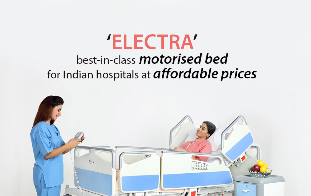 'ELECTRA'-best-in-class-motorised-bed-for-Indian-hospitals-at-affordable-prices