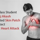 Skin-patch-to-detect-heart-attack