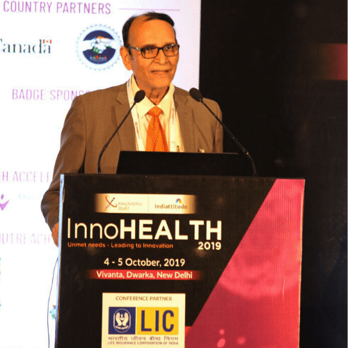 Dr. VK Singh at InnoHEALTH 2019