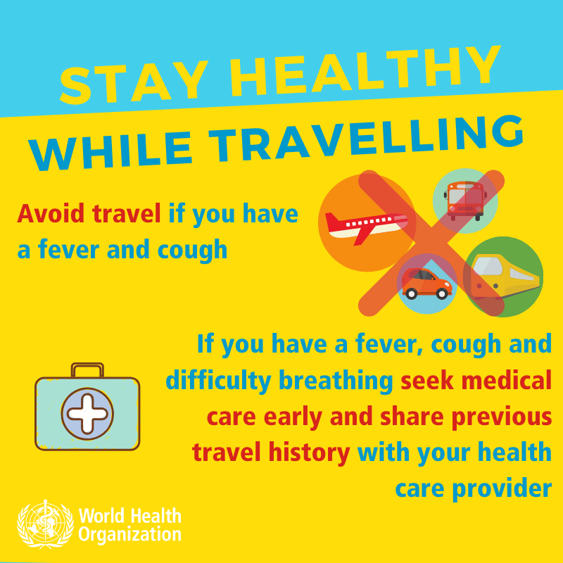 Coronavirus - Stay healthy while traveling-1