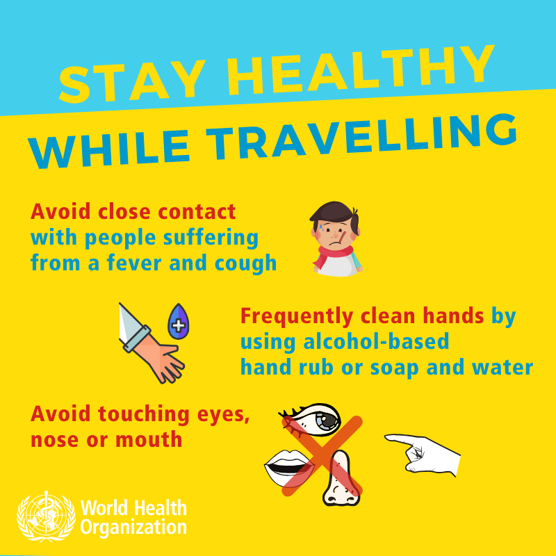 Coronavirus - Stay healthy while traveling-2