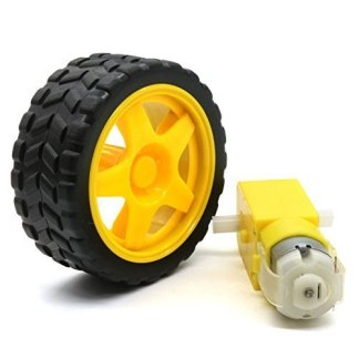 motor and wheels