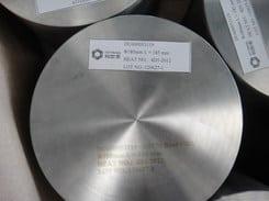 massieve roestvast staal cylinder