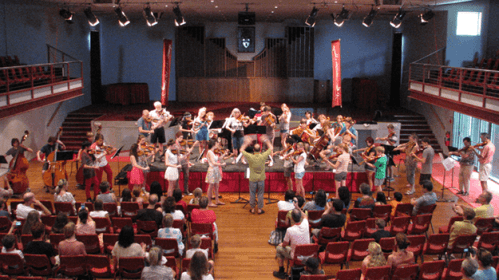 The Riverina Summer School for Strings 2015