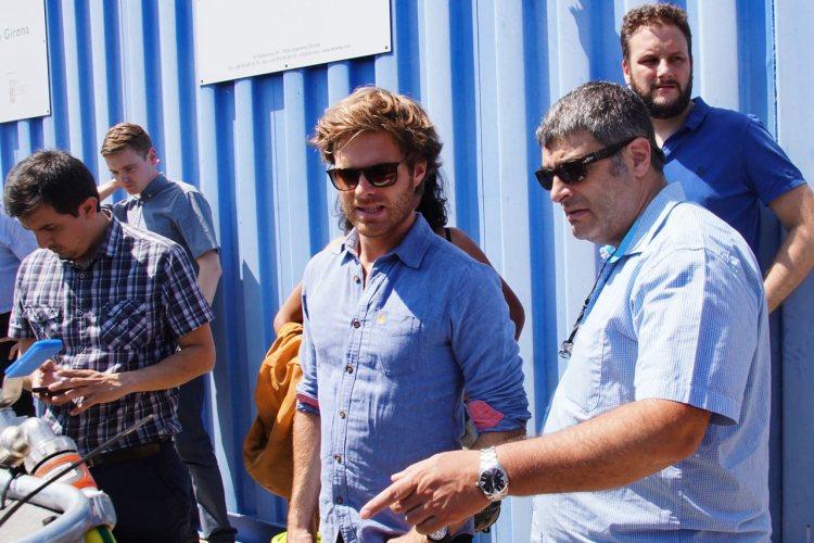 Germain Adell, INNOQUA Project Coordinator, at the University of Girona test site